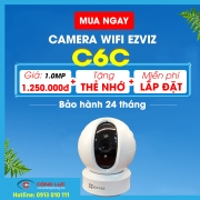 Camera IP Wifi Ezviz CS-CV246 (C6C 720P)